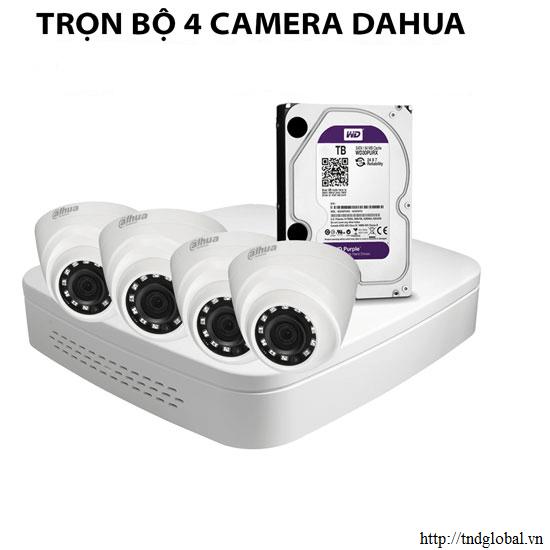 camera an ninh 4 mắt dahua