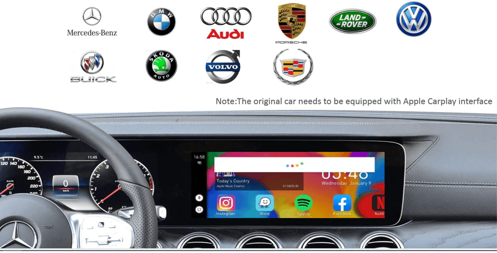 Carplay Android Box AI - Xe Hỗ Trợ